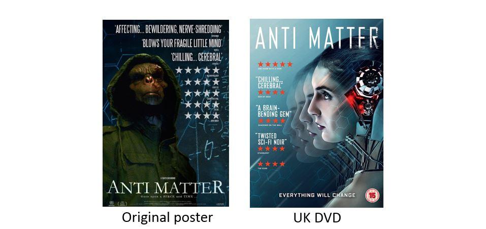 ANTI MATTER comparison