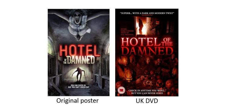 HOTEL OF THE DAMNED comparison