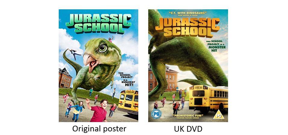 JURASSIC SCHOOL comparison