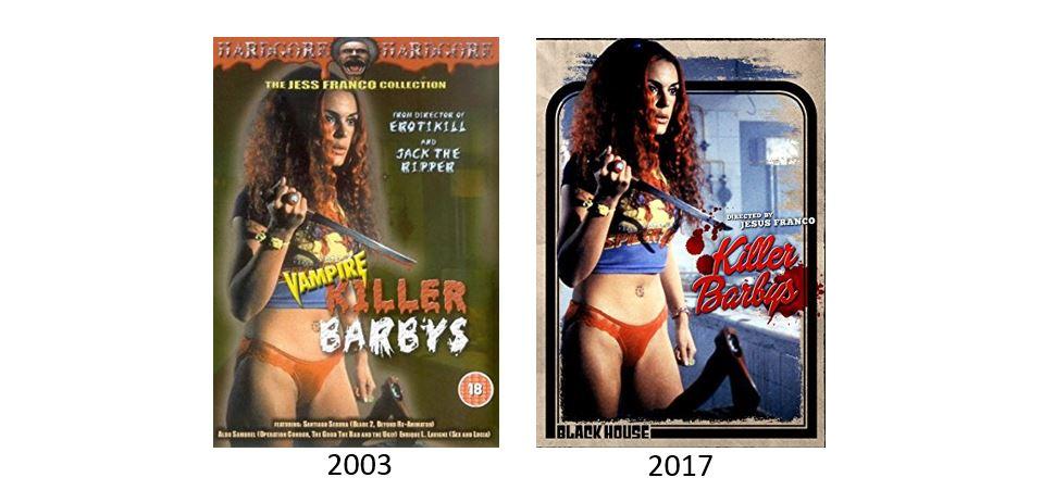 KILLER BARBYS comparison