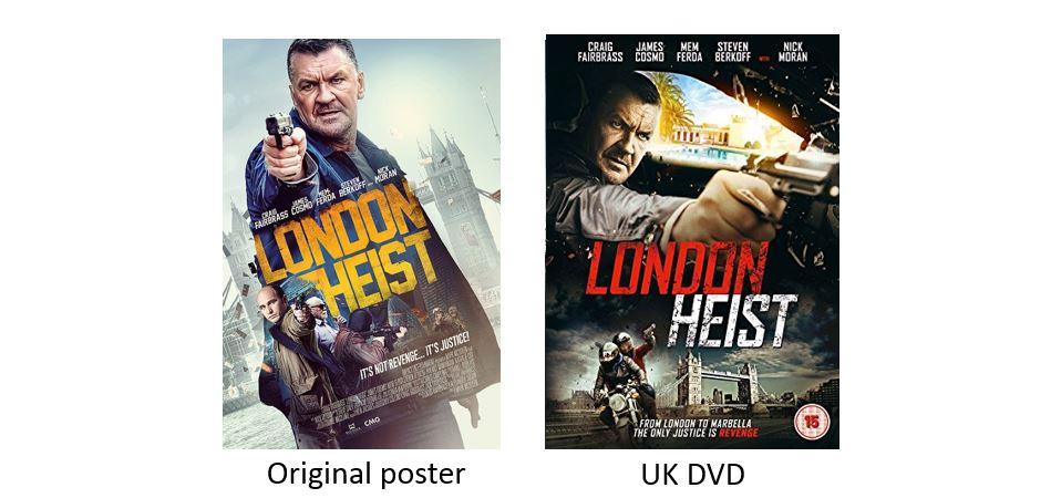 LONDON HEIST comparison
