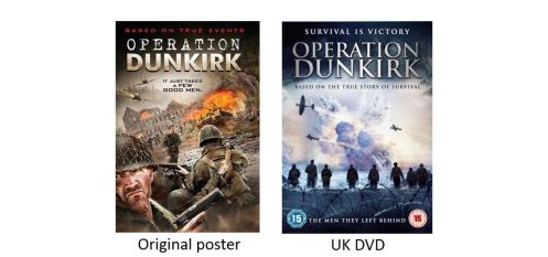 OPERATION DUNKIRK comparison