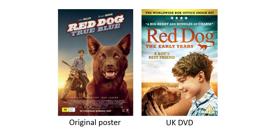 RED DOG - THE EARLY YEARS comparison
