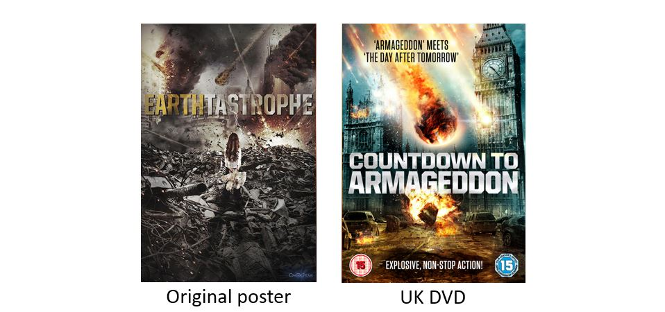COUNTDOWN TO ARMAGEDDON comparison