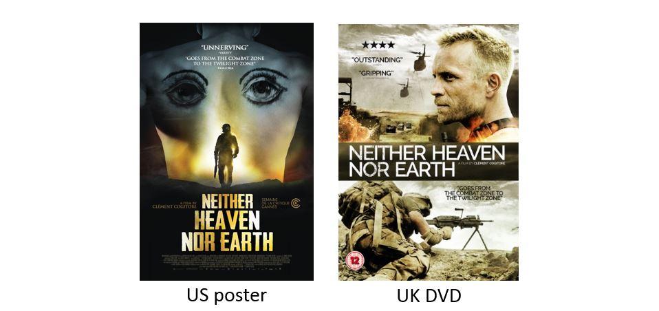 NEITHER HEAVEN NOR EARTH comparison