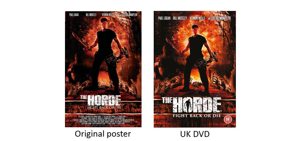 THE HORDE comparison