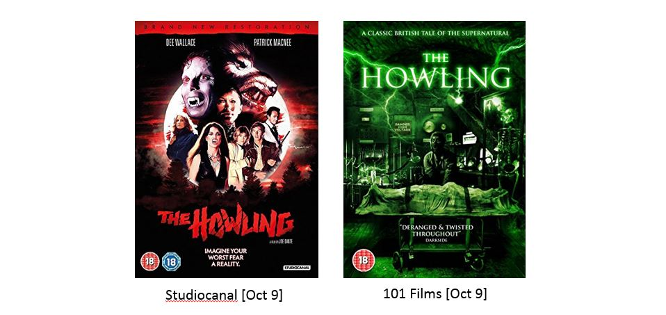 THE HOWLING _ 101 films _ Oct 9