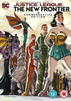 JUSTICE LEAGUE - THE NEW FRONTIER _ 2017 _ October 30 _ Warner Home Video